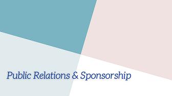 Public Relations & Sponsorship